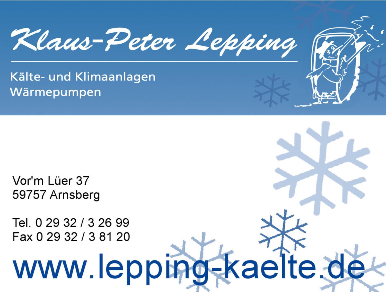 Klaus-Peter Lepping GmbH & Co. KG - Kälte- und Klimatechnik